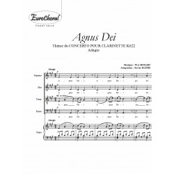 AGNUS DEI (concerto pour clarinette K622)