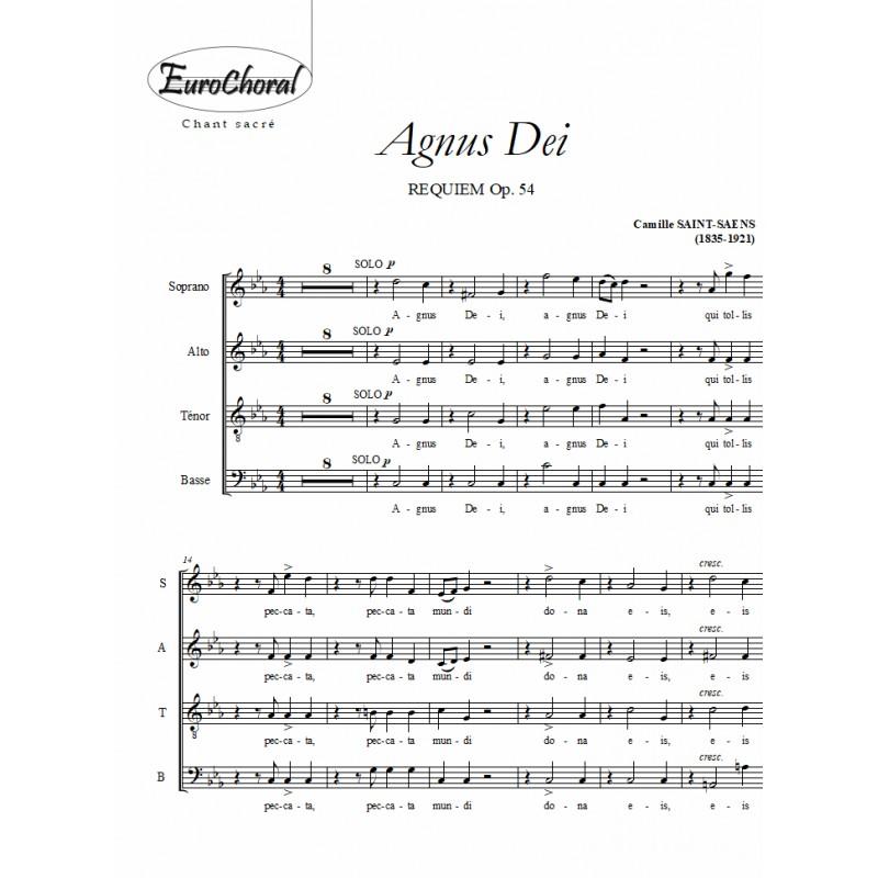 AGNUS DEI (Requiem Op.54)