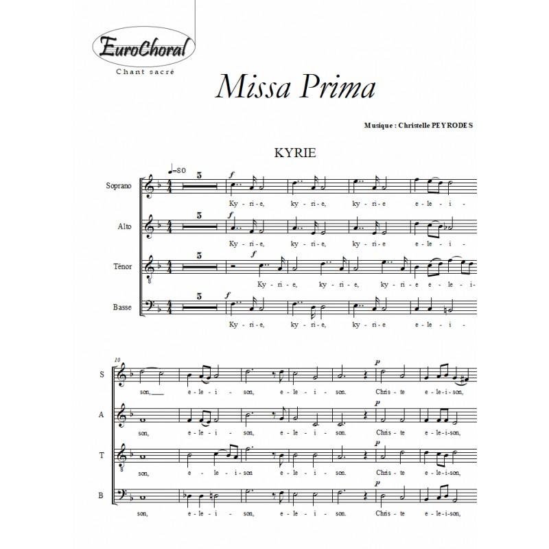 MISSA PRIMA (Choeur)