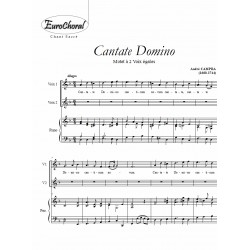 CANTATE DOMINO (Campra)
