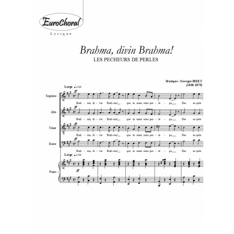 BRAHMA DIVIN BRAHMA (Les Pêcheurs de perles)